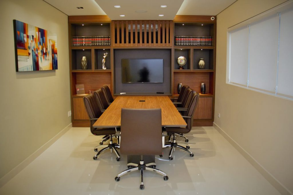 Sala de reuniões - Sede da EXECUTIVA